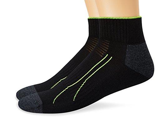 PUMA Herren Socken PERFORMANCE TRAIN QUARTER 2P, black, 43-46, 261008001