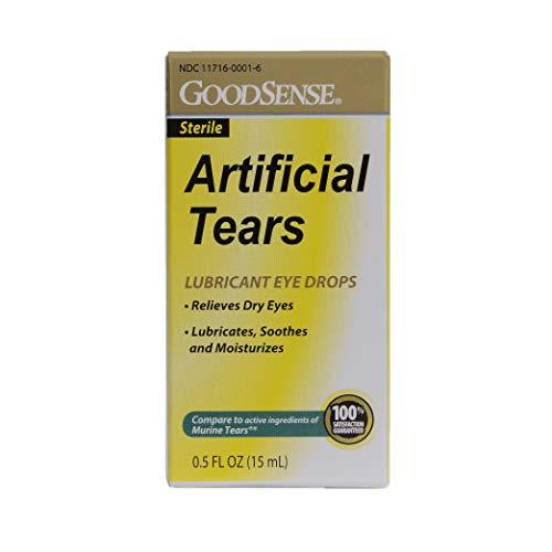 Goodsense Eye Drops Artificial Tears, Blue, 0.5 Fluid Ounce