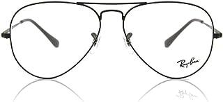 إطارات النظارات المعدنية طراز افياتور RX6489 من راي بان