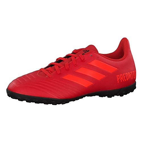 adidas Herren Predator 19.4 Tf Fußballschuhe, Mehrfarbig (Rojact/Rojsol/Negbás 000), 41 1/3 EU