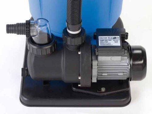 Steinbach SPS 75-1 Filterpumpe, 230 V / 450 Watt, 142 l/min, max. Pumphöhe 9 m, 040920