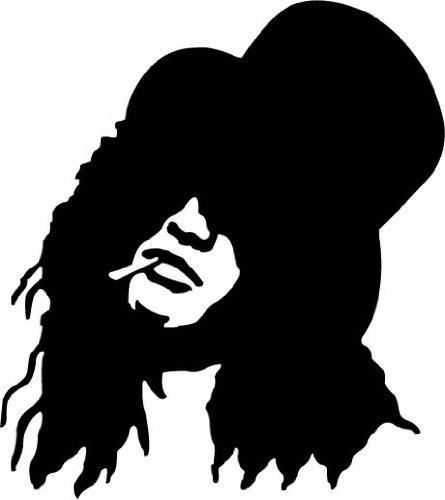 Guns N' Roses Slash Musik Hochwertigen Auto-Autoaufkleber 12 x 12 cm