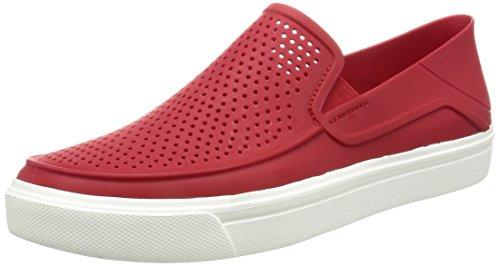 Crocs Crocs Herren Citilane Roka Slip-on M Ppr/WHI Sneaker, Pfeffer/Weiß, 41 EU