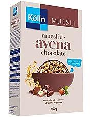 Kölln Muesli de Avena Integral con Chocolate y Avellanas, 500 G