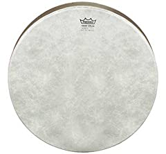 All frame drums are equipped with a Remo drumhead and are manufactured with Remo's patented Acousticon shell