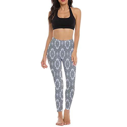 prunushome Celtic Yoga Pants for Women, Geometric Celtic Knots Training Leggings