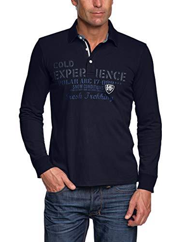 Pioneer Herren Poloshirt Regular Fit 2090 5154, Gr. 56 (XXL), Blau (Night Blue 599)