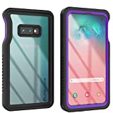 Punkcase S10e Waterproof Case [Extreme Series] [Slim Fit] [IP68 Certified] [Shockproof] [Dirtproof] [Snowproof] Armor Cover Compatible W/Samsung Galaxy S10e [Purple]