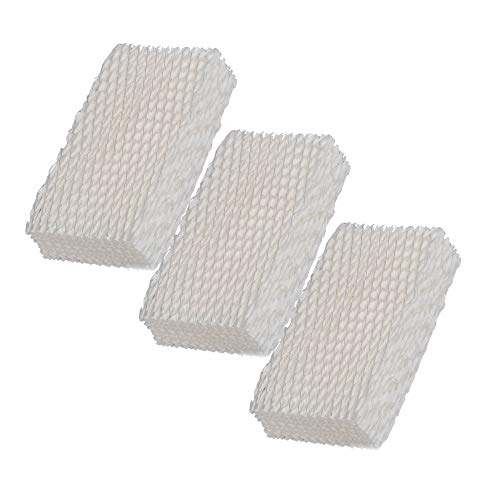 SaferCCTV Replacement Humidifier Wick Filters Compatible with ReliOn WF813 Duracraft HC832, DH-830 / DH830 Series Cool Moisture Humidifier (3pc)