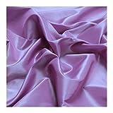 Stoff Polyester Kleidertaft flieder Taft dezenter Glanz