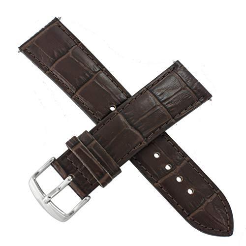 Casio - Correa de reloj para EFR-526L-7AV EFR 526L 526 (piel), color marrón