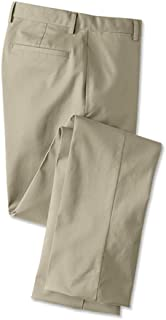 429b9552e9 Orvis Men's Trim Fit Wrinkle-Free Cotton Stretch Chinos, Khaki, Cuffed