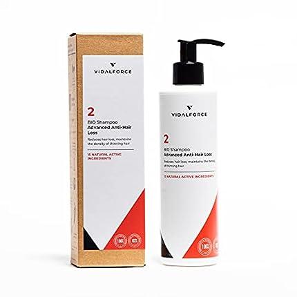 GANADOR 2021* Champú 2 BIO Reduce la perdida de cabello  Avanzada  mantiene la densidad del cabello fino - Serum crecimiento del cabello - Fortalece los Folículos - Champú anticaída Hombre&Mujer