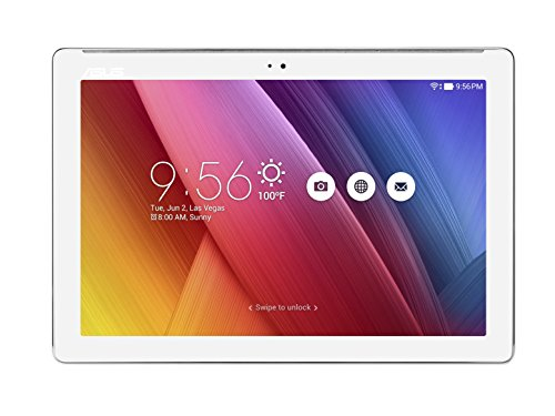 Asus Z300CNL-6B031A ZenPad Tablet, Schermo da 10.1' HD, Processore Intel Quad Core, HDD da 32 GB, RAM 2 GB, Bianco Perla [Italia]