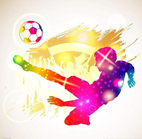 Pintura De Diamante De Fútbol Junior Taladro completo de 50 * 50 cm