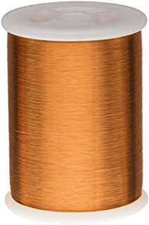 Remington Industries 42HFVP.5 42 AWG Heavy Build Magnet Wire, Heavy Formvar Copper Wire, 8 oz, 0.0029