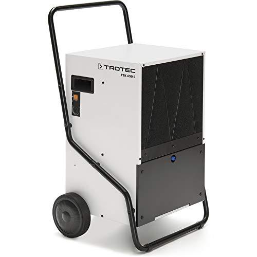 TROTEC TTK 650 S Deumidificatore (deumidificazione di 150litri/24h) con una portata d'aria di 1.480 m³/h