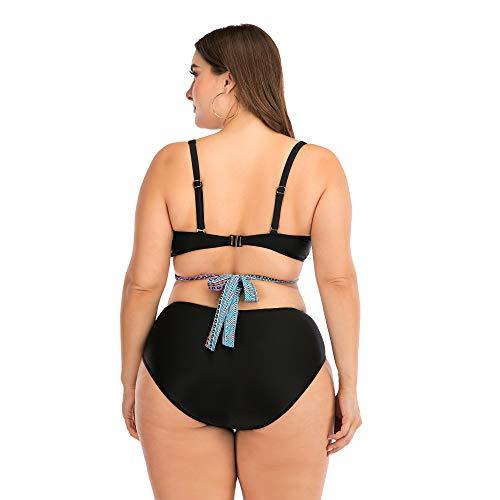 HOSD Bikini fette Frau sexy Big Cup Damen Badeanzug Badeanzug