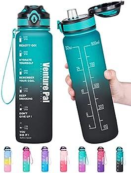 Venture Pal 32oz Motivational Leakproof Water Bottle (various colors)