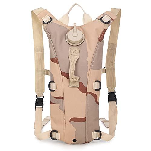 Mochila de hombro impermeable camuflaje ligero Packable mochila casual para viajes camping al aire libre, Color-i, L