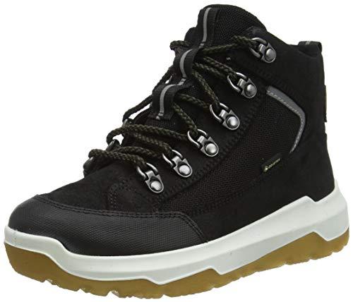 Superfit Jungen Space Sneaker, Schwarz Grün 0000, 33 EU Weit