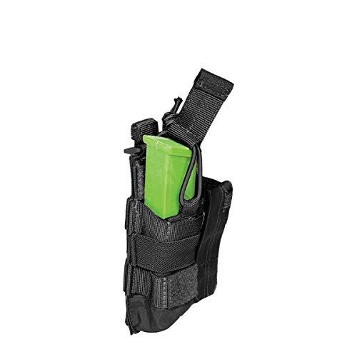 5.11 - Porte Chargeur PA Double - Etui Tactique - Chargeur Pistolet - Compatible Molle - Tirette Antidérapante - 13,33 x 7,62 x 3,17 cm
