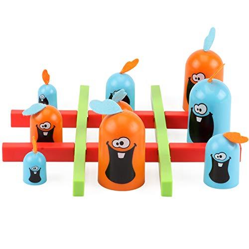 PerGrate Gobblet Gobblers Gesellschaftsspiel für Familienspielzeug, Partyspielzeug, für die Familie