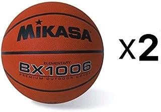 پوشش لاستیکی بسکتبال Mikasa Youth Ballase Grip Rubber Cover Size 4 Elementary (2-Pack)
