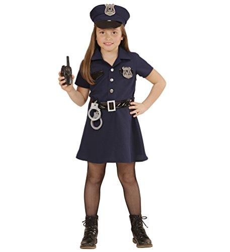 Karneval-Klamotten Kostüm Polizistin Sonja Mädchen Karneval Polizei Mädchenkostüm