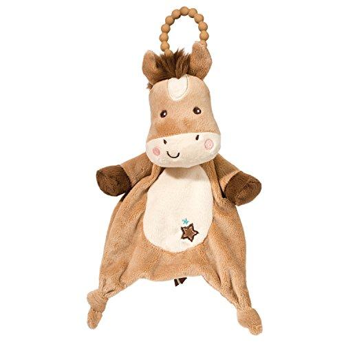 Douglas Baby Star Pony Teether Plush Stuffed Animal Toy