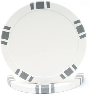 Trademark Poker 5 Spot Blank Poker Chips 11.5gm