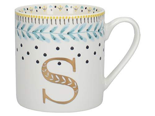 Creative Tops C000244 Tasse aus feinem Porzellan mit S-Motiv