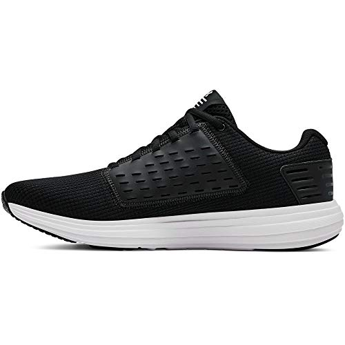Under Armour Men's Surge Special Edition Running Shoe, Black (001)/White, 9