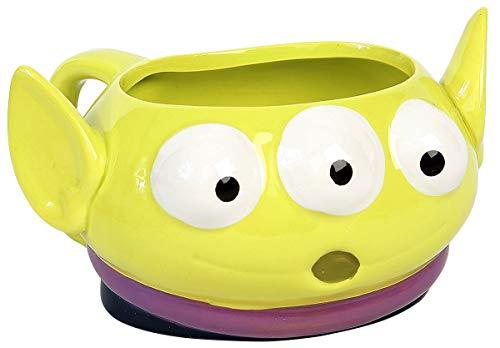 Disney Toy Story 3D Tasse Aliens grün, bedruckt, 100 % Keramik
