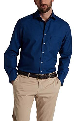 eterna Langarm Hemd Modern Fit Struktur strukturiert