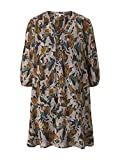 TOM TAILOR Denim Damen 1025775 Tunica Kleid, 26829-Abstract Monkey Print, L