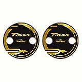Adhesivos Cárter Cambiador Compatible con Tmax 530 Y Tmax 500 Modelo 2001/16 - Adhesivo Moto 3D Ultra Resistente - Adhesivos para Moto - Colores: Negro -Blanco- Rojo - Oro - Plata - Oro