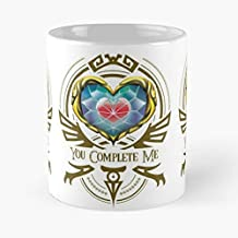 Zelda Heart Piece Container Loz - Funny Mug Coffee Gift For Christmas Father's Day