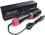 Secador de Pelo 3 en 1 Cepillo de Aire Caliente Cepillo Multifunción para Secador Peine de Aire Caliente para Todos Tipos de Cabello
