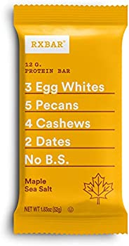 12-Pack RXBAR 1.83 oz Maple Sea Salt Protein Bar