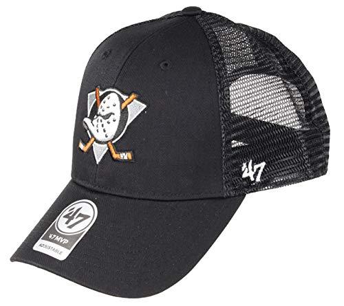 '47 Gorra Trucker MVP Branson Anaheim Ducks Brand - Negro - Ajustable