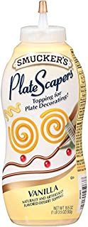 Smucker's PlateScrapers Plate Decorating Dessert Topping Vanilla (19.5 ounce)