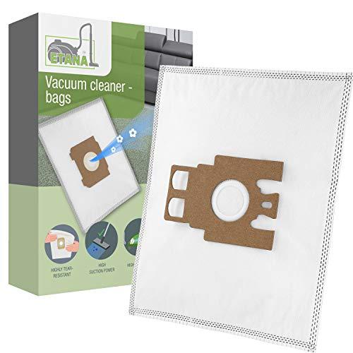 Etana Staubsauger-Beutel kompatibel mit Miele S711 Parkett I S 711 Parkett I S711 Parkett Special - 10 Stück Staubbeutel inkl. Mikrofilter