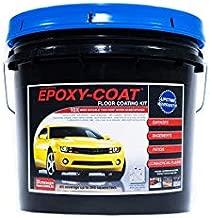 Garage Floor Concrete Epoxy Coating - Epoxy-Coat - Gray Basecoat with Gray Blend Flake