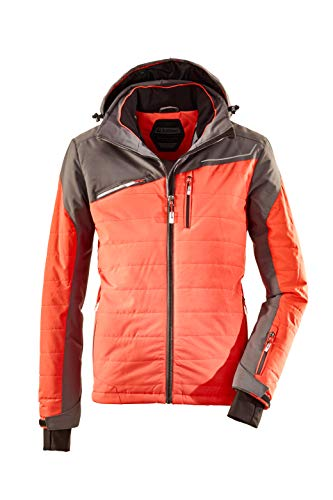 Killtec Herren Denno Skijacke, orange, 3XL