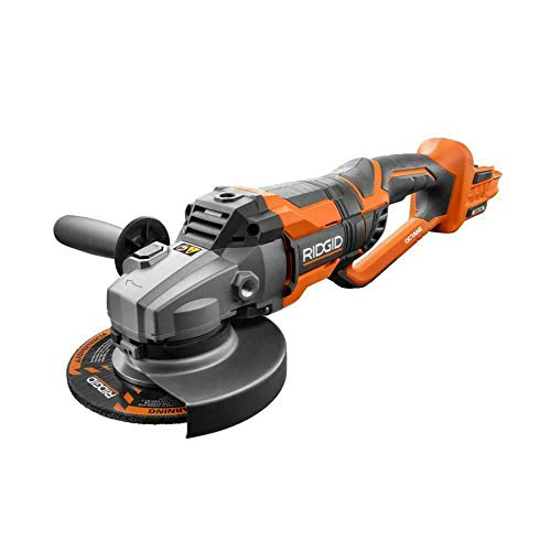 RIDGID 18-Volt OCTANE Cordless Brushless 7 in. Dual Angle Grinder (Tool Only)