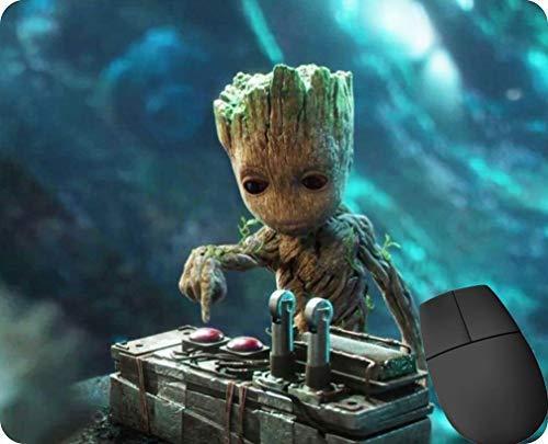 """Gaming-Mauspad, rutschfest, wasserabweisend, Gummiunterseite, Stoff, """"Guardians Of The Galaxy Vol. 2"""", """"Baby Groot"""""""