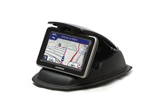 Navitech Fixation Universelle Tableau de Bord Voiture Compatible avec GPS y Compris Tomtom Start 60M / Tomtom Via 130