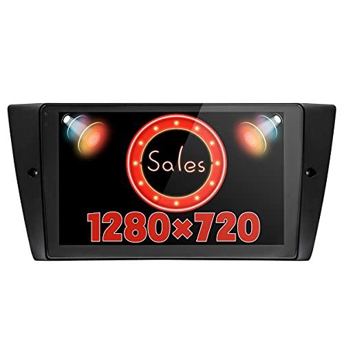 JOYFORWA 9 pollici Android 8.1 6 GB + 64 GB autoradio lettore multimediale per auto con DSP/Android Auto/tronco veloce / 1280 × 720 / volante per BMW E90 E91 E92 E93