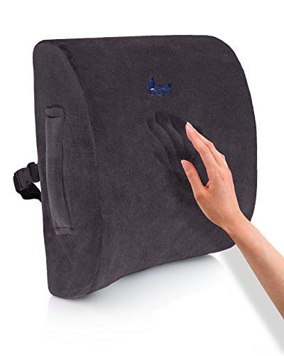 Desk Jockey Rückenstützkissen – Erstklassige Therapeutisch Einsetzbare Rückenstütze Für Schmerzen Im Unteren Rücken, Fahrersitz …